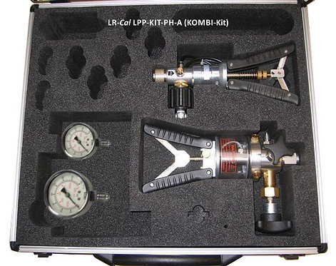 LR-Cal LPP Kit PH-A Pneumatic and Hydraulic Pressure Calibration Kit