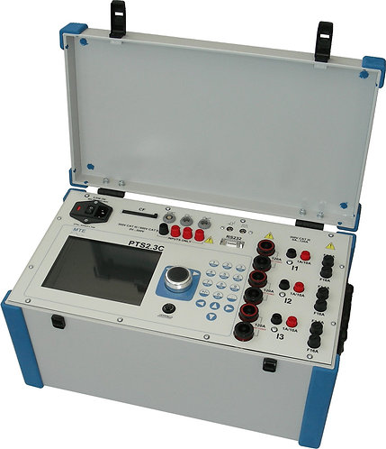 MTE - PTS 2.3 C Three Phase Fully Automatic Test System/Current Source-Reference