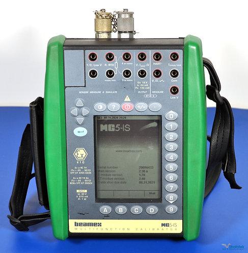 Beamex MC5-IS Multifunction Process Calibrator HART Fluke Leads NIST Calibrated