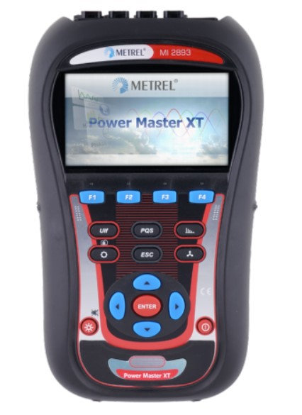 Metrel MI 2893 Power Master XT ADVANCED KIT,  3 Phase PQA, TRMS
