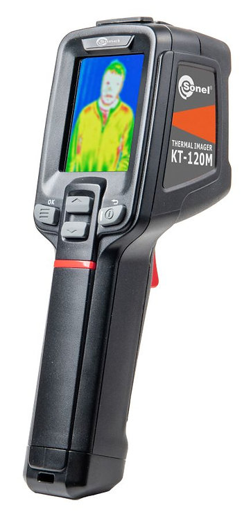 Sonel -KT-120M Thermal Imaging Camera W/Alarm, 0.5°C Accuracy, 120x90 Res Imager