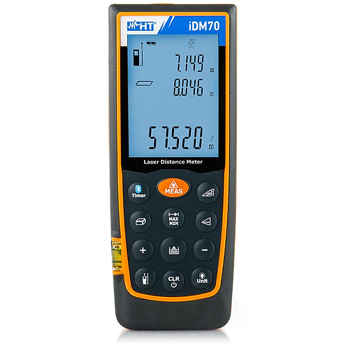 HT Instruments iDM70 Laser Distance Meter 70M Inclinometer Bluetooth