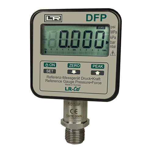 LR-Cal DFP Digital Reference Pressure Gauge (Force and Weight Conversion)