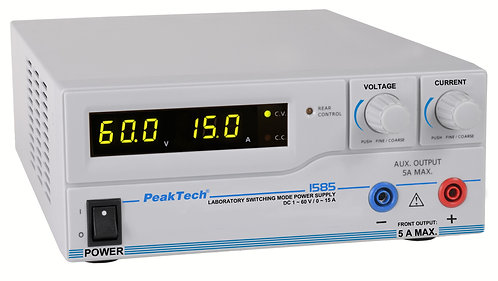 Peaktech P1585 DC Power Supply 960W Switching Mode 60V 15A USB