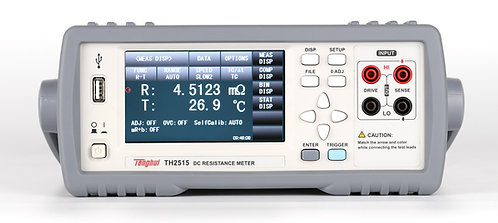 Tonghui TH2515 DC Resistance Meter 5 ½ Digit 0.01% Maximum Accuracy