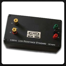 Ohm-Labs' 1000 Series Low Resistance Standards, 1Ω at 1 A to 10 μΩ at 300 A