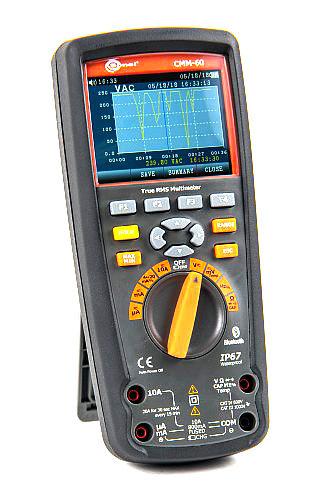 Sonel -CMM-60 Advanced Industrial Multimeter, 1000V, 14 Measurement Functions