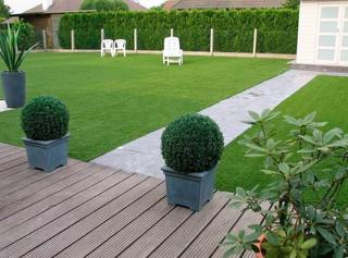 Césped artificial para nuestro jardín