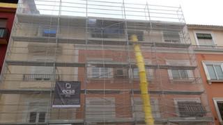 Rehabilitación de cubierta de edificio en Granada
