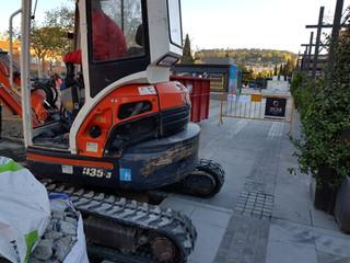 Obras Parking centro de Granada