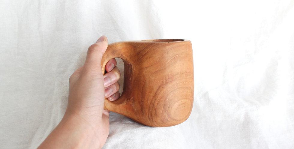 Teak Wood Cup - KHKK146