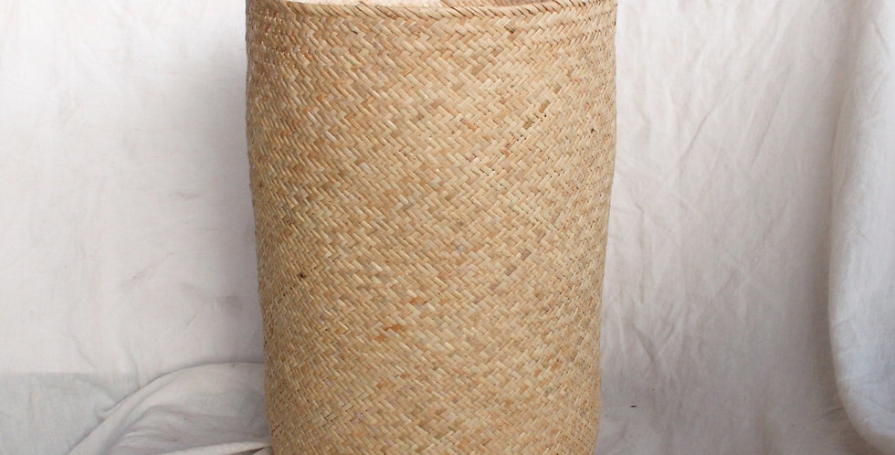 Natural Handwoven Rattan Basket Foldable (40cm)