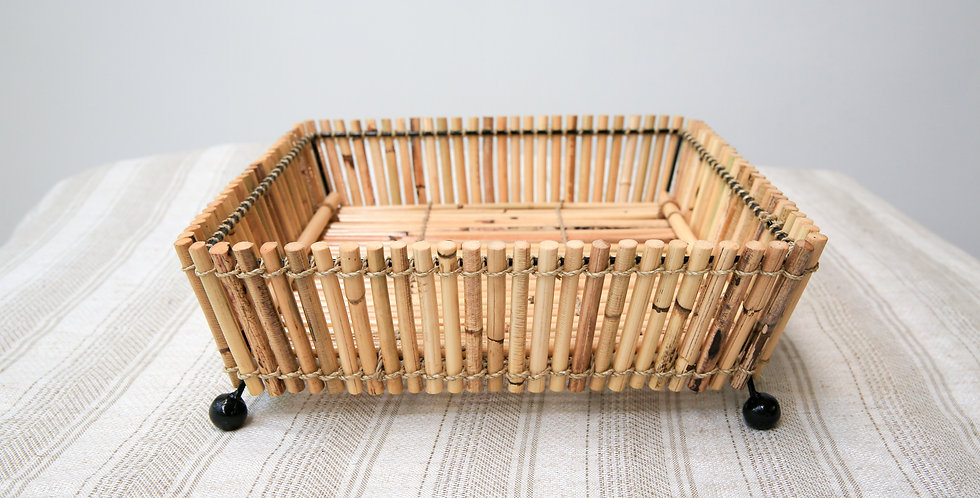 Bamboo Tray Basket