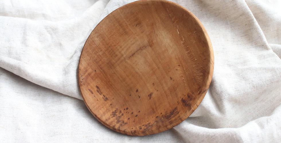 Bromo Teak Wooden Platter - SMALL (15cm)