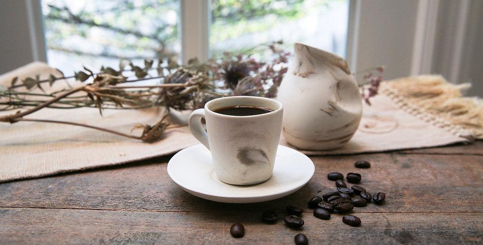 Ash Marble Espresso Cup