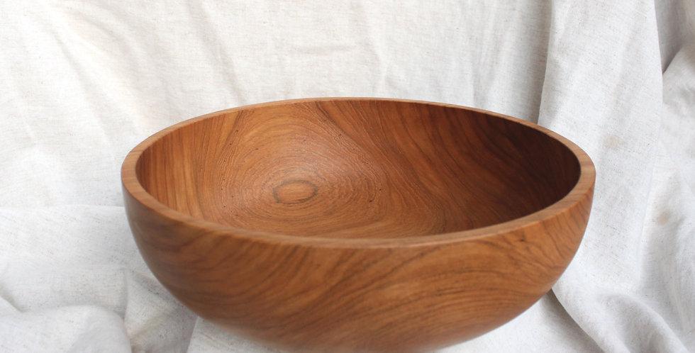 Teak Wooden Bowl XL 30cm - KHKK155