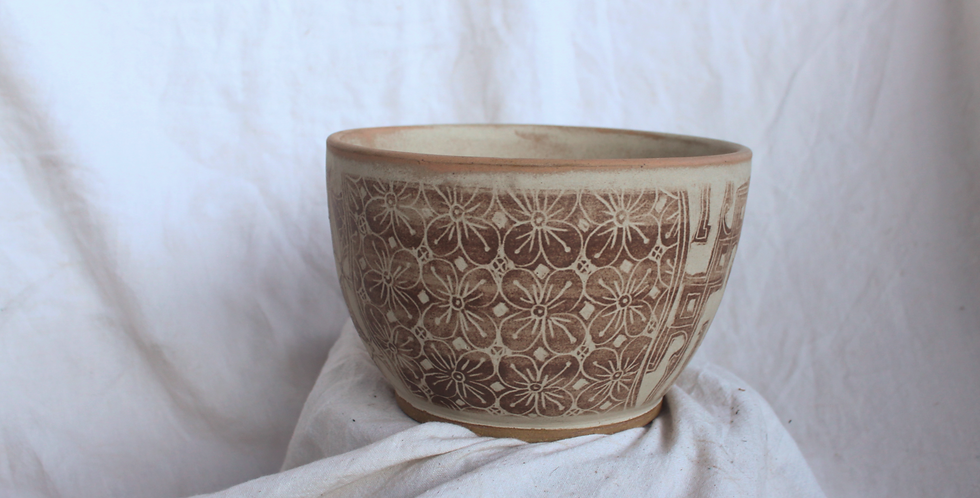 Batik Ceramic Bowl