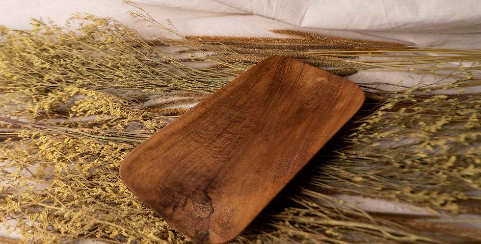 Tugu Teak Tray - SMALL (22cm x 12cm)