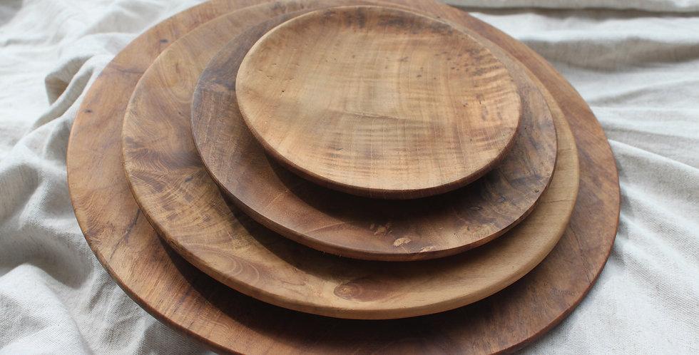 Bromo Teak Wooden Platter - XLARGE (30cm)
