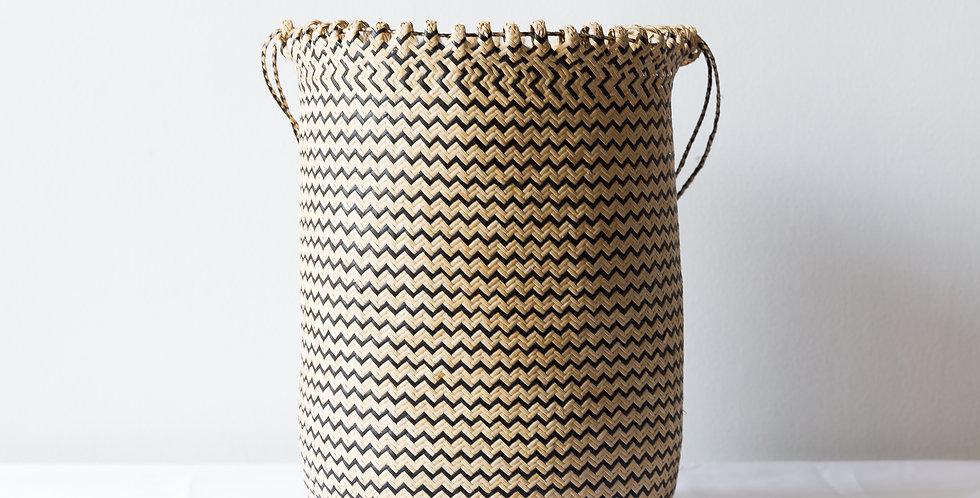 ZIGZAG Rattan Basket