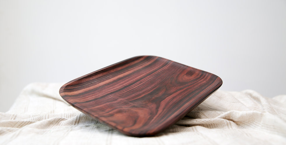 Kayu Square Plate No.3
