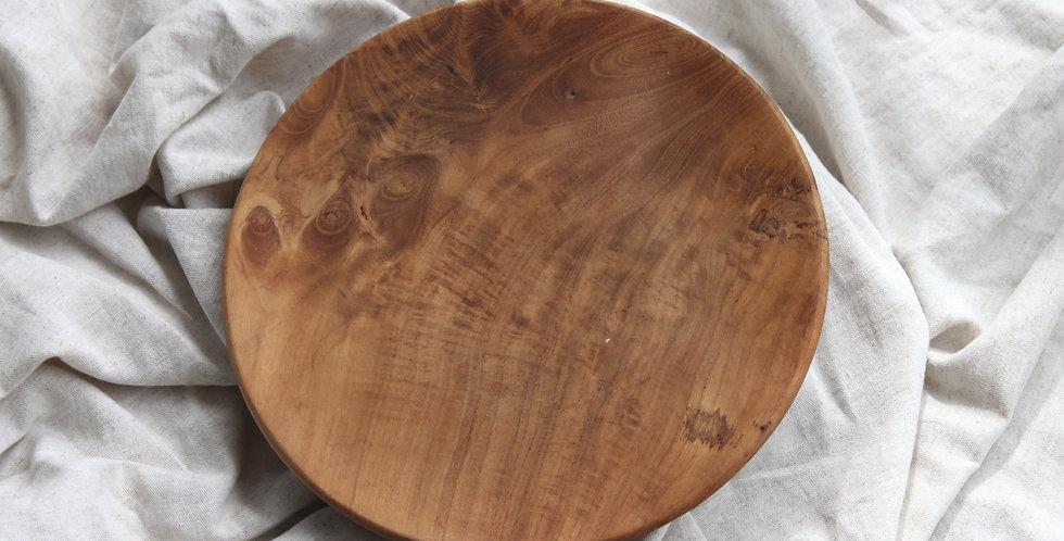 Bromo Teak Wooden Platter - LARGE (25cm)