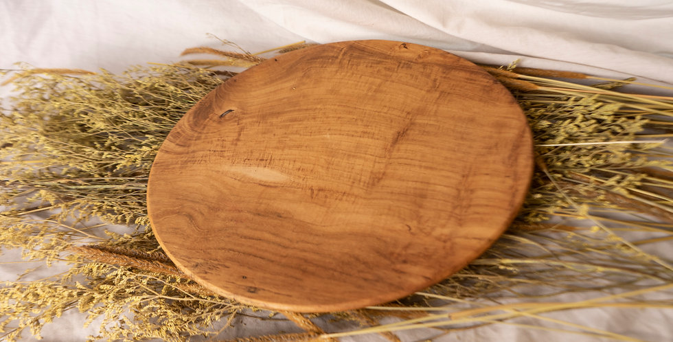 Bromo Teak Platter - XLARGE (30cm)