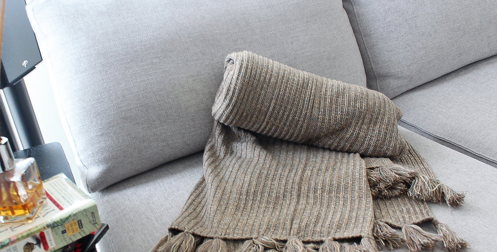 JUMBO Fluff Blanket (Khaki)