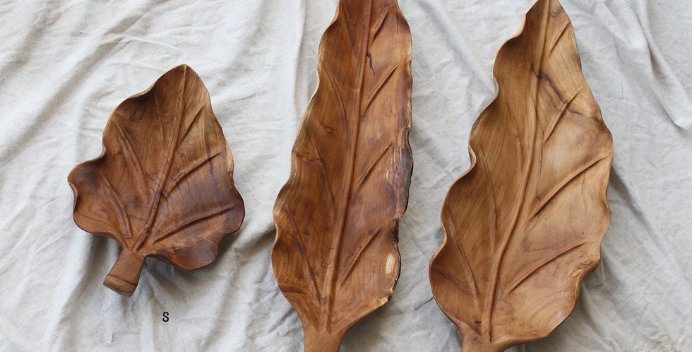 DAUN Wooden Plate (LARGE 70cm)