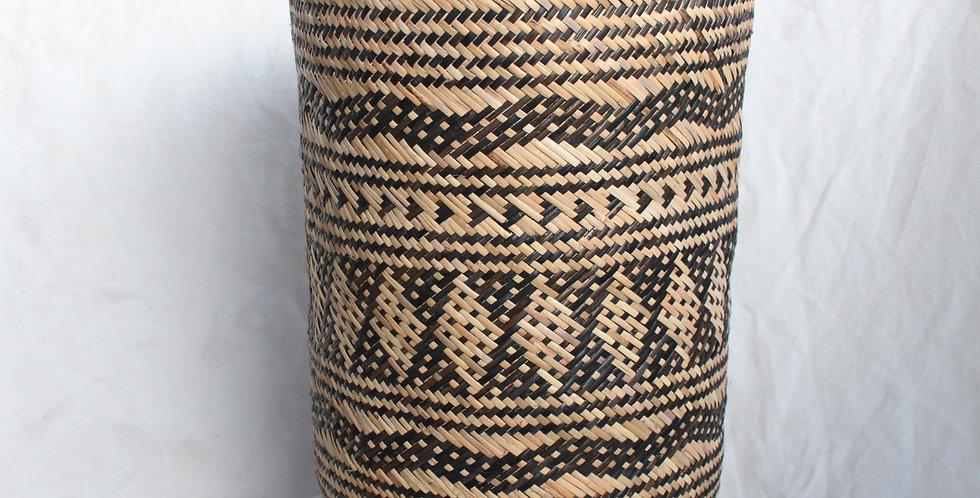 Handwoven Rattan Basket Foldable (LARGE 40cm)