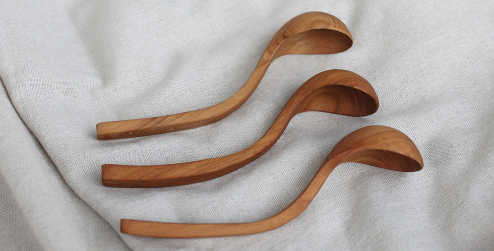 Mini Wooden Teak Scoop - KHKK124