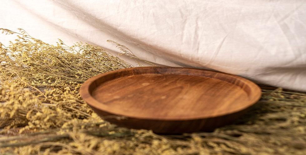Merapi Teak Platter - SMALL (20cm)