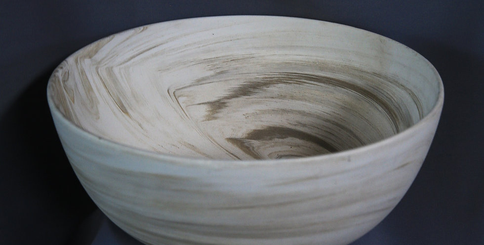 Ash Marble Jumbo Bowl