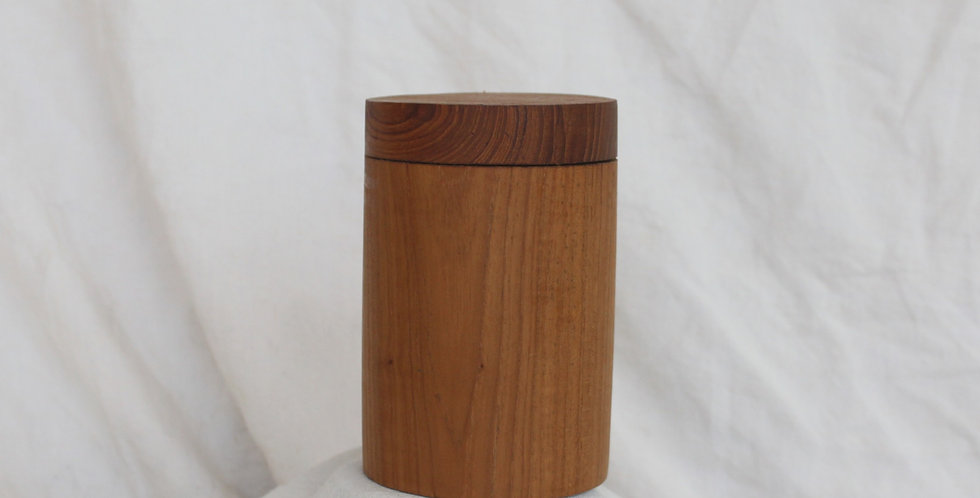Teak Wood Container (LARGE)