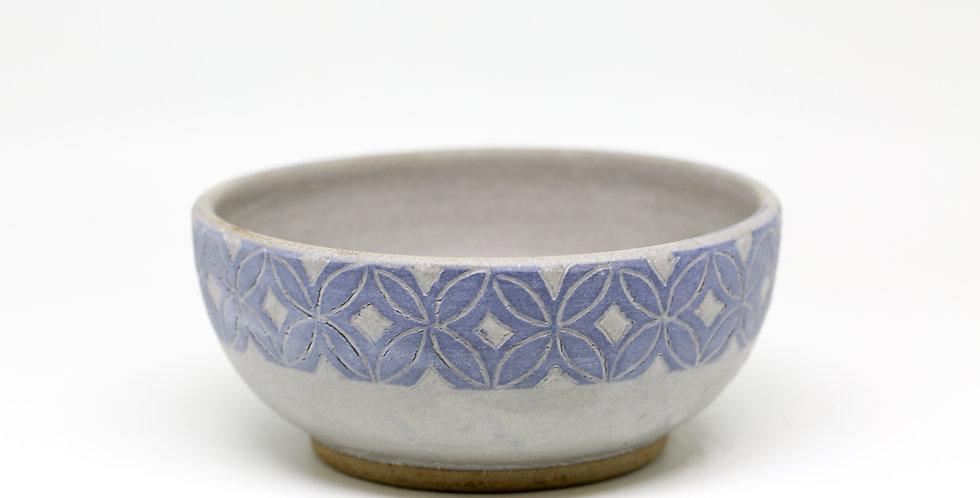 Patterned Medium Ceramic Bowl