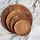 Thumbnail: Bromo Teak Wooden Platter - MEDIUM (20cm)