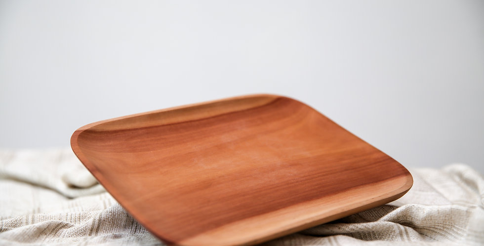 Kayu Square Plate No.4