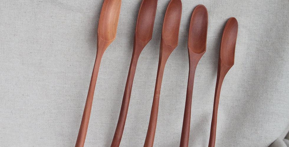 Kayu Stir Spoons (5pcs) - KHKK084