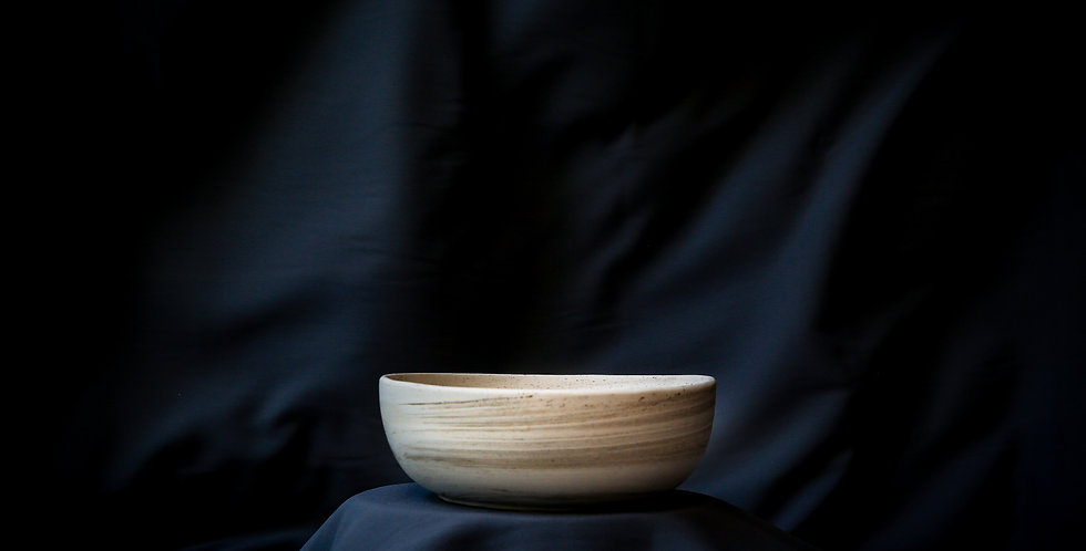 Ash Marble Ceramic Bowl No. 3