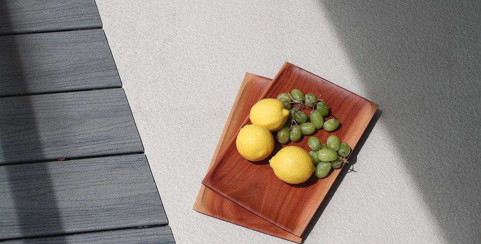 Rectangle Wooden Tray - KHKK188A