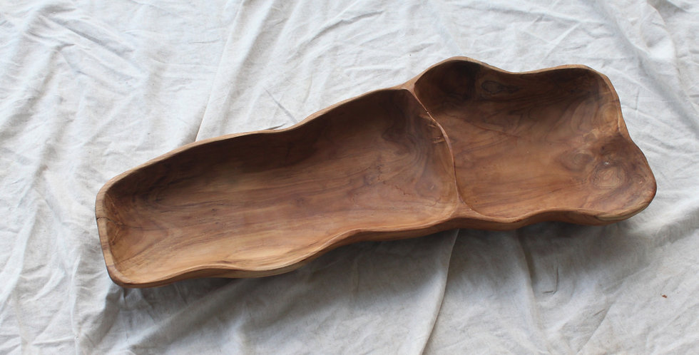 LORO Wooden Plate - LARGE 68cm