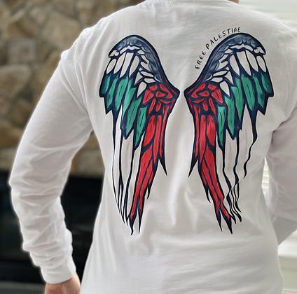 Palestine Wings  Unisex Long sleeve