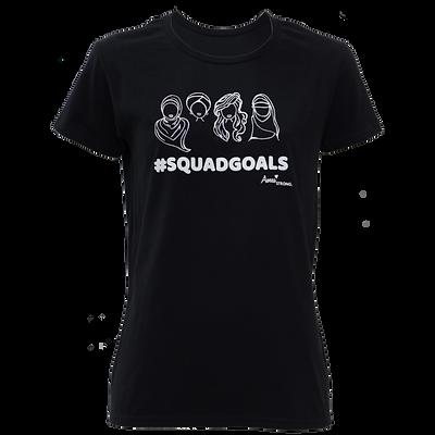 Squadgoals Black T-shirt