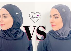 NIKE vs HAUTE HIJAB Sports Hijab