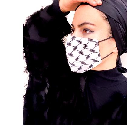 Keffiyeh Adult Mask (Men & Women)