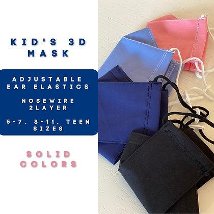 Kids SOLID 3D Mask