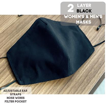 Black Adult Mask