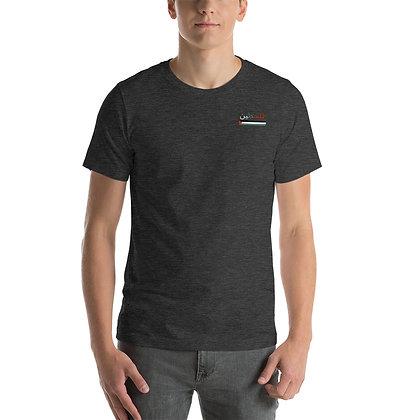 Palestine Corner Winged Back T-shirt (Dark)