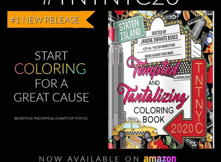 The #TNTNYC20 Coloring Book