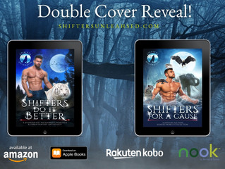 DOUBLE COVER REVEAL!